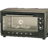 وايت ويل فرن كهربائي 55 لتر بالشواية لون أسود