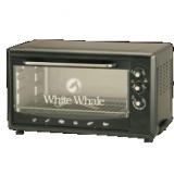 وايت ويل فرن كهربائي 60 لتر بالشواية لون أسود
