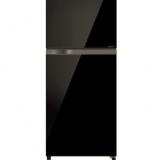 توشيبا ثلاجة 409 لتر 16 قدم إنفرتر لون أسود زجاج