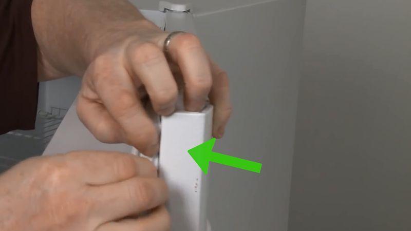 اطار باب الثلاجة